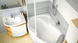 Vanu, nebo sprchový kout? A co takhle vana se sprchovým koutem?