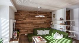 Akustická pohoda domova s vůní dřeva