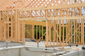 Sloupková konstrukce dřevostavby
