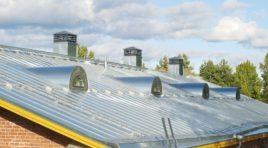 Jak na nátěr plechové střechy?