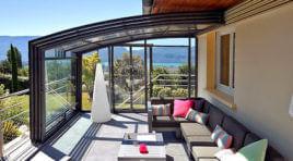 Posuvné zastřešení terasy, balkonu nebo pergoly nemá chybu