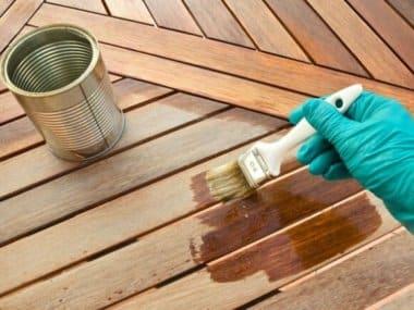 impregnace a ošetření dřevěného zahradního nábytku