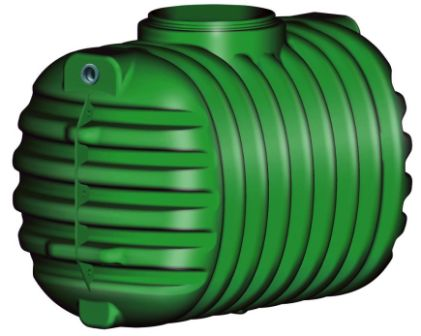 Podzemní nádrž na dešťovou vodu