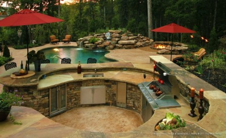 Escapes-and-More-Outdoor-Kitchen-1   lawtonhottubs.com