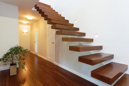 Konzolové schodiště dřevěné