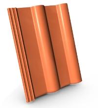 Pálená/betonová taška
