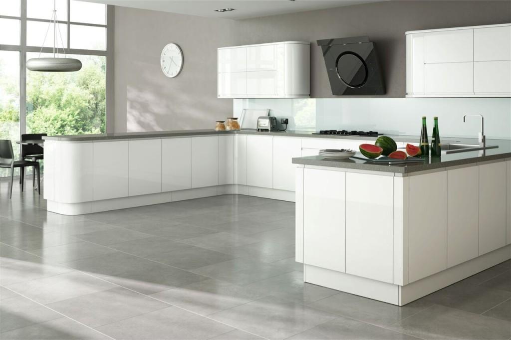 laminátová podlaha v kuchyni inspirace