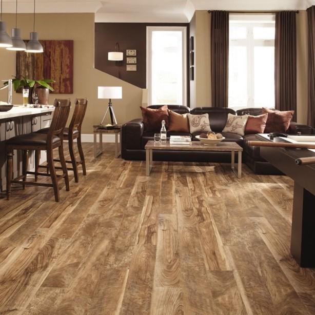 dřevěná podlaha do kuchyně