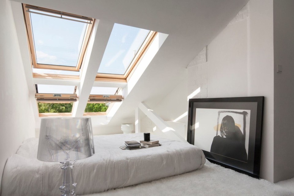 Půdní vestavba a střešní okna