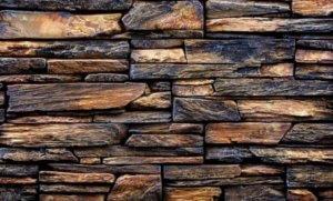 Obklad z umělého kamenne se vzorem přírodního kamene