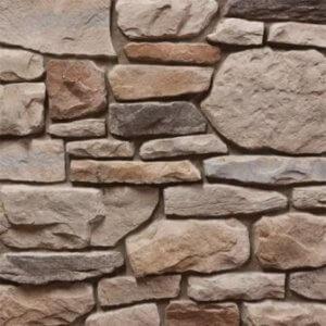 Kamenný obklad dřevostavby z přírodního kamene