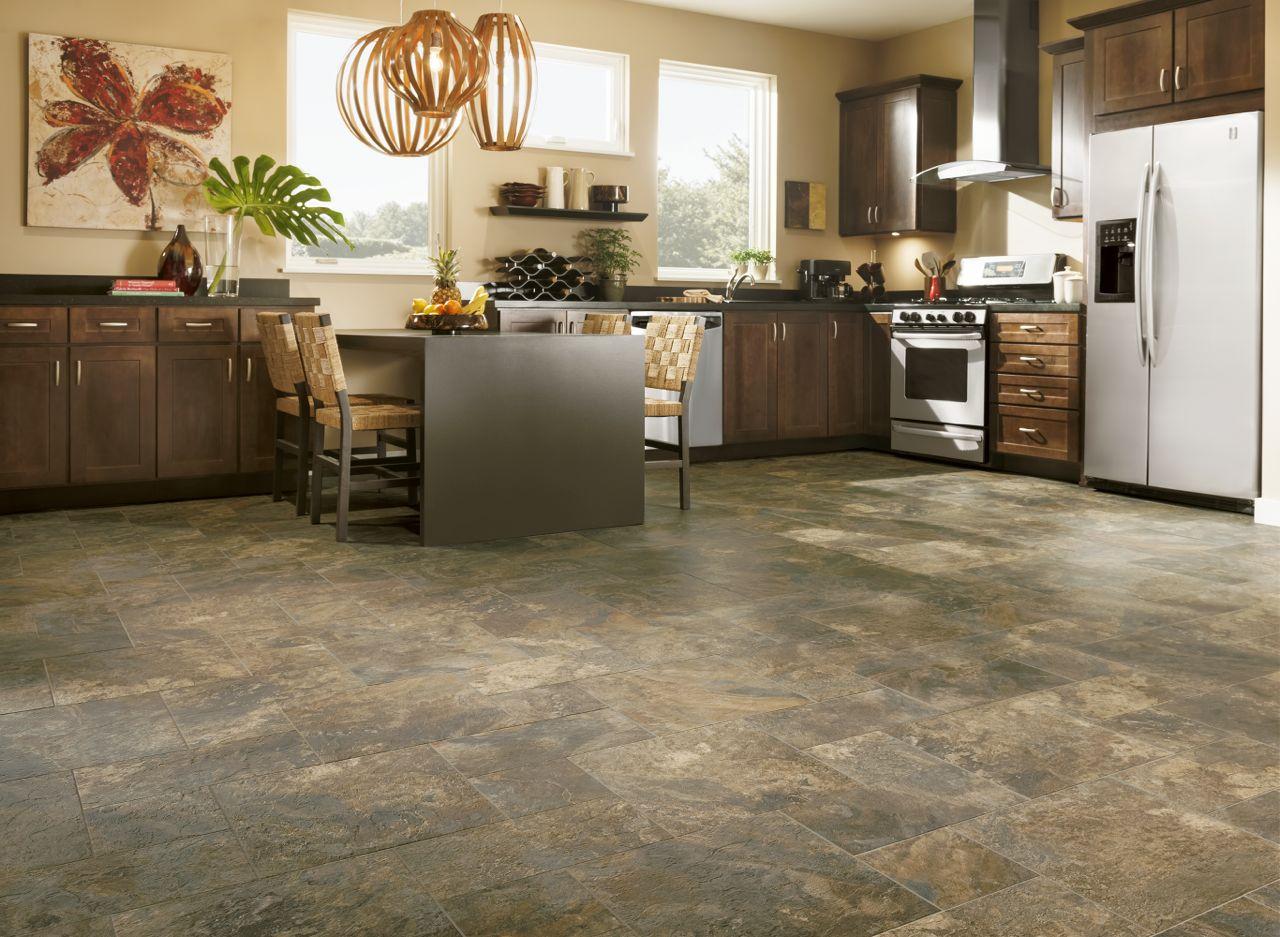 Keramická podlaha do kuchyně