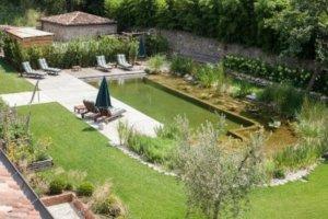 Přírodní bio bazén s čisticí zónou