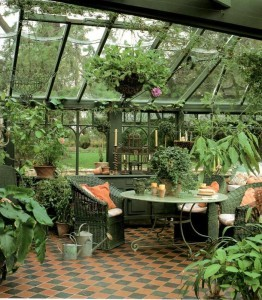 zimní zahrada tropická