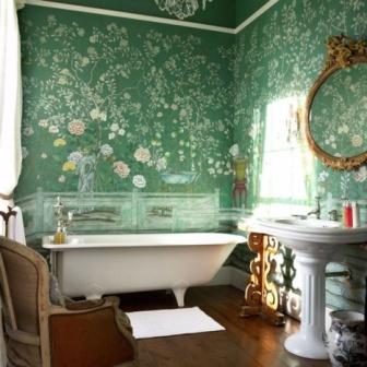 Koupelna inspirovaná bohémským stylem