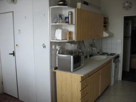 Kuchyň čekající na rekonstrukci