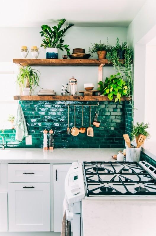 Kuchyně inspirovaná bohémským stylem