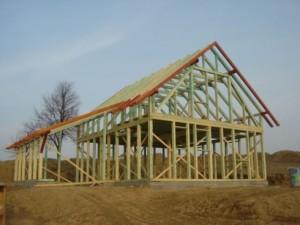 Realizace dřevostavby s rámovou konstrukcí je velmi rychlá