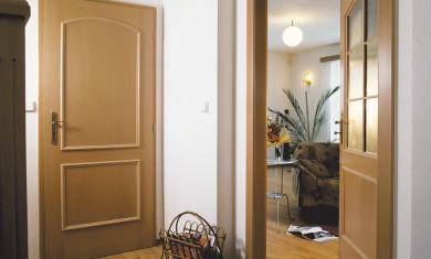 Takto mohou vypadat obložkové zárubně v interiéru