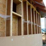 dřevovláknitá izolace použitá pro zateplení dřevostavby