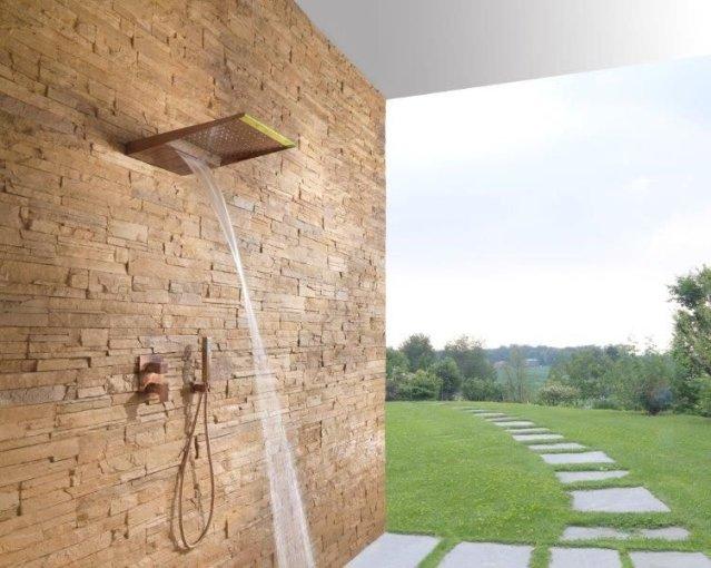Sprchová hlavice venkovní s vodopádem