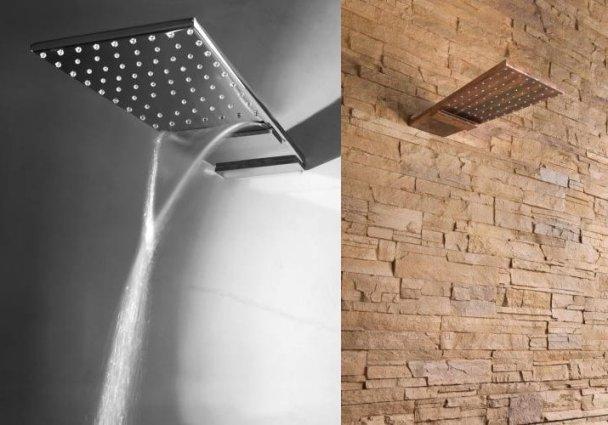 moderní sprchová hlavice nástěnná