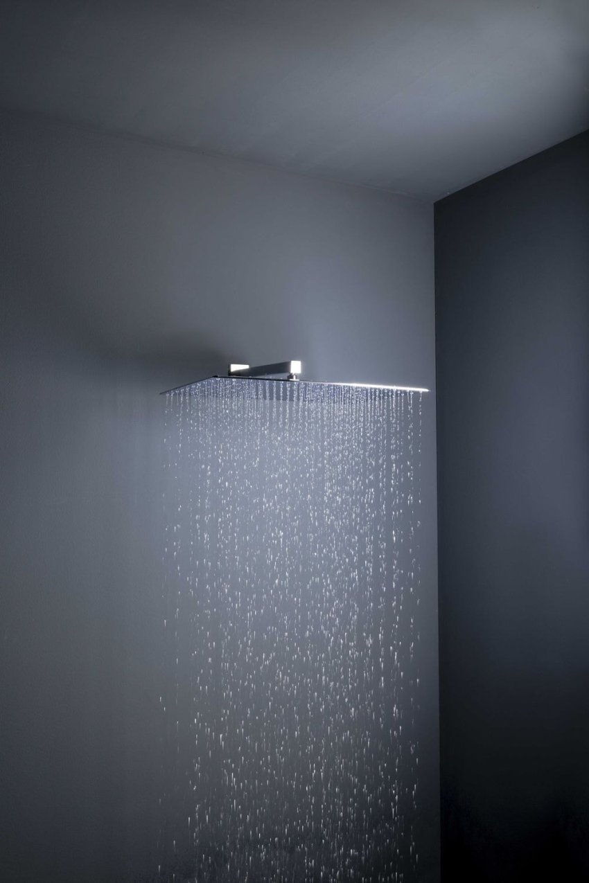 Designová sprchová růžice nástěnná