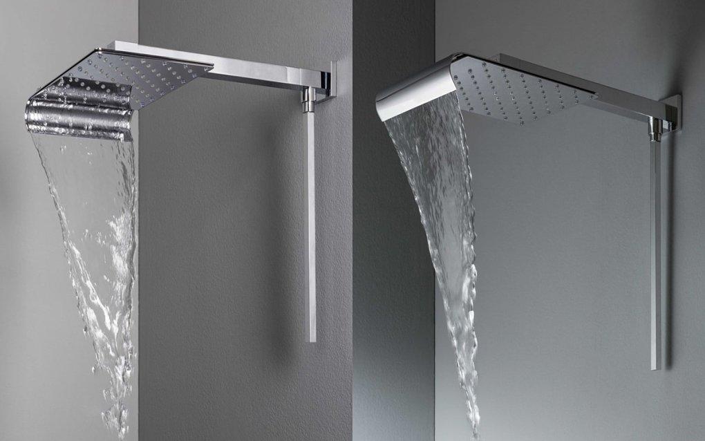 moderní sprchová hlavice