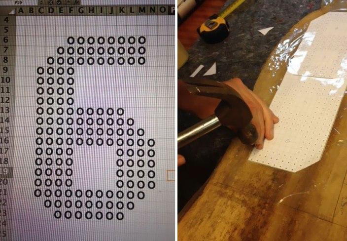 Výroba DIY domovního čísla