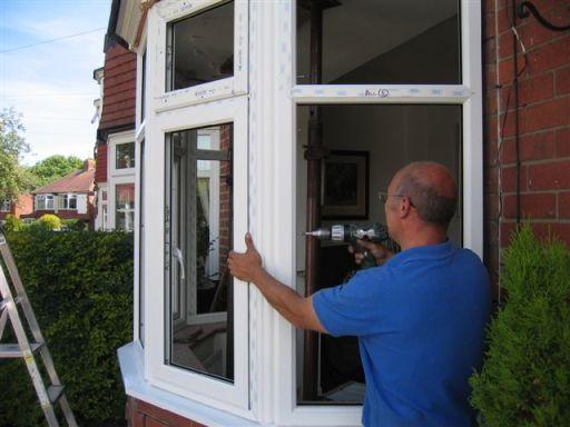 osazení plastového okna s izolačním dvojsklem