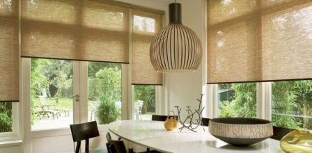interiérové vnitřní rolety do oken