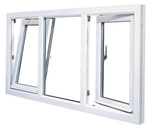 plastová okna otevíravá izolační dvojsklo plastový profil