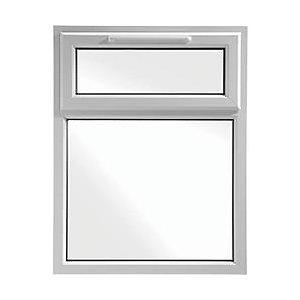 Fixní okno s otevíravou částí - ventilačka