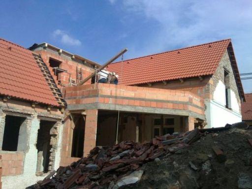 stavba rodinného domu svépomocí