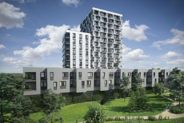 Nové byty v rámci projektu Britská čtvrť X
