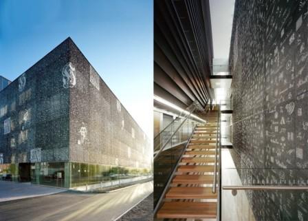 Grafický beton - použití v interiéru a exteriéru