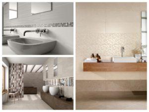 Jemné dekorace v designové koupelně