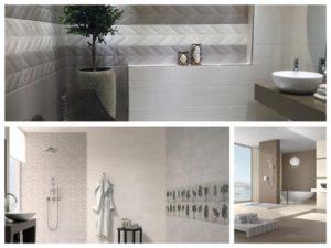 Mozaika a jemne dekory koupelnu rozzari