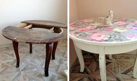 Renovaci nábytku zvládnete lehce sami