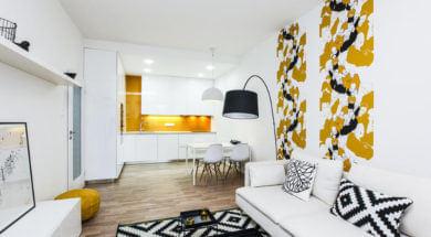 Tapety na zeď do obývacího pokoje
