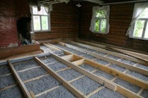 Izolace podlahy pěnosklem