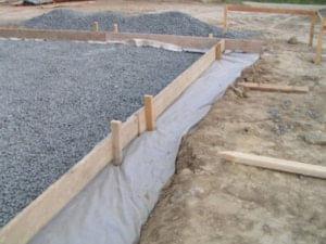 pěnové sklo použití v základové konstrukci domu