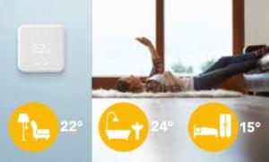 Chytrý termostat TADO vlastnosti