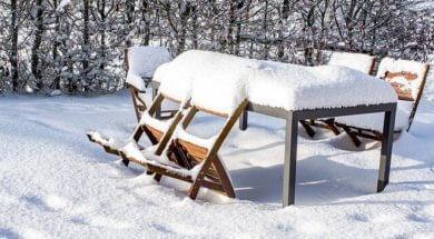 jak zazimovat zahradní nábytek