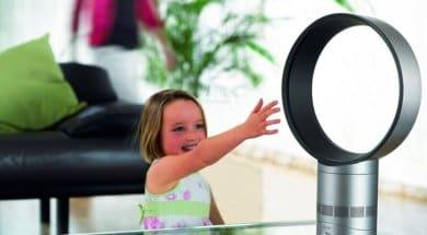 Bezlopatkový ventilátor