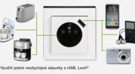 Zásuvka s USB nabíječkou 2v1 a její výhody