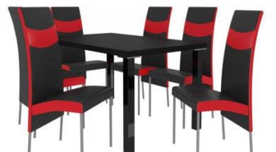 Kovové jídelní židle