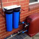 Čerpadlo s filtračním zařízením pro úpravu dešťové vody
