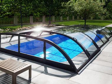 Bazén se zastřešením albixon