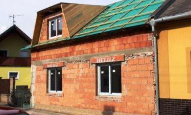 Rekonstrukce podkroví – stavba vikýře – vikýř lichoběžníkový